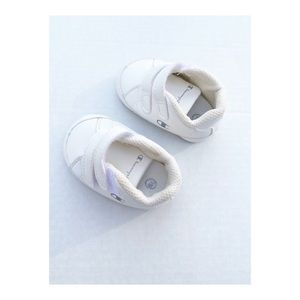Champion Infant Sneakers White Silver Size 1